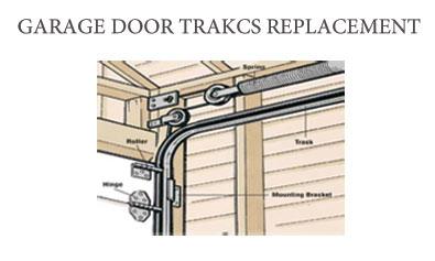 Garage door tracks repair services