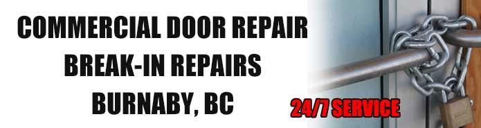 Commercial Door Repair in Burnaby