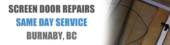 Screen Door Repair Burnaby
